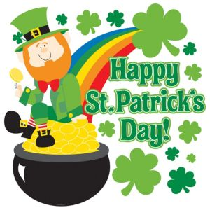 Happy St. Patrick's Day Cutout