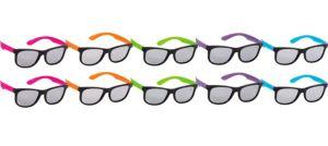 Neon Totally 80s Sunglasses 10ct