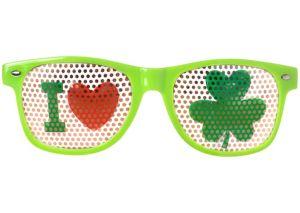 Shamrock Printed Glasses