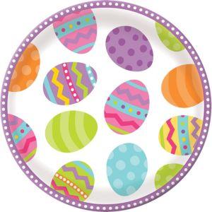 Easter Egg Round Platter