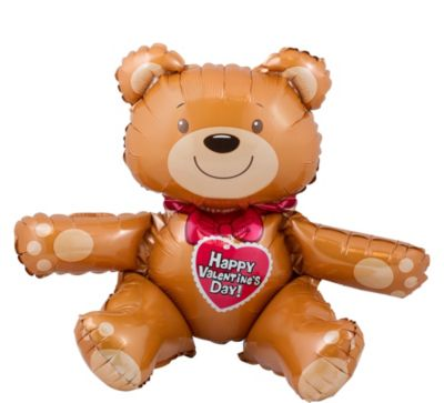 Valentine's Day Balloon - Teddy Bear
