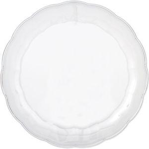 CLEAR Plastic Scalloped Platter