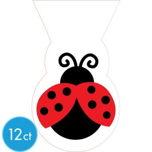 Fancy Ladybug Treat Bags 12ct
