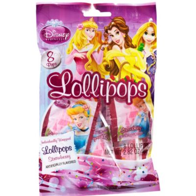 Disney Princess Lollipops 8ct