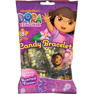 Dora the Explorer Candy Bracelets 8ct