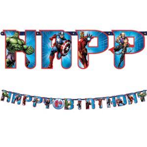 Avengers Birthday Banner 11ft