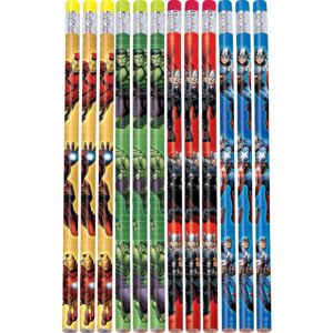 Bright Avengers Pencils 12ct