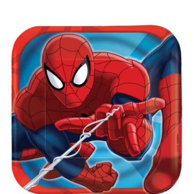 Spider-Man Dessert Plates 8ct