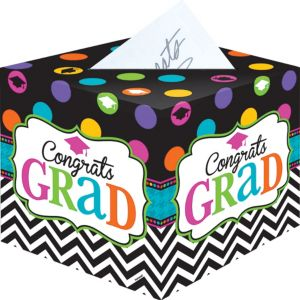 Bright Congrats Graduation Card Holder Box