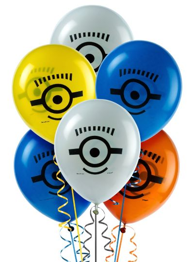 Despicable Me Balloons 8ct