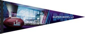 Super Bowl Pennant Flag