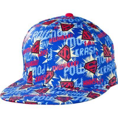 Comic Print Superman Baseball Hat