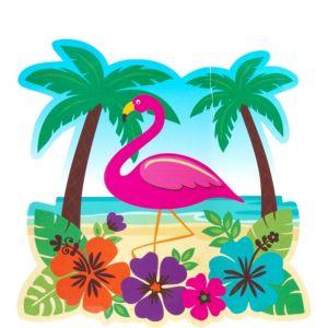 Tropical Beach Cutout