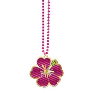 Hibiscus Bead Necklace