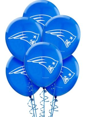 New England Patriots Balloons 6ct
