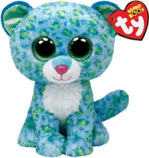 Leona Beanie Boo Leopard Plush