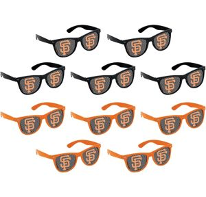 San Francisco Giants Printed Glasses 10ct