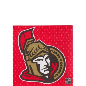 Ottawa Senators Beverage Napkins 16ct