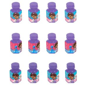 Doc McStuffins Mini Bubbles 12ct