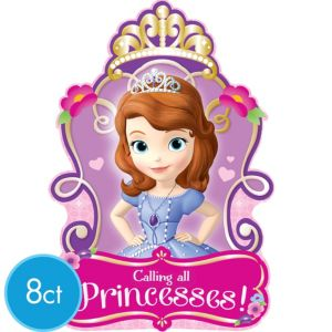 Sofia the First Invitations 8ct