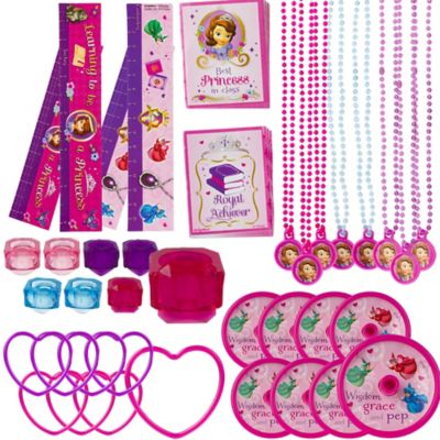 Sofia the First Favor Pack 48pc
