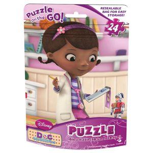 Doc McStuffins Puzzle Bag 24pc