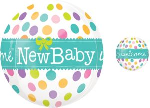 Orbz New Baby Balloon 16in