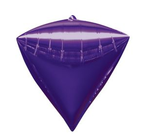 Purple Diamondz Balloon