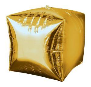 Gold Cubez Balloon