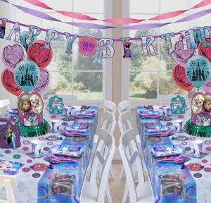 Frozen Deluxe Party Kit for 16 Guests