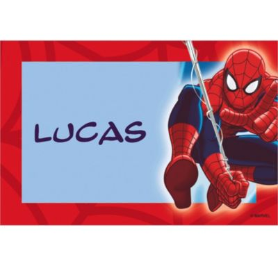 Ultimate Spider-Man Custom Thank You Note