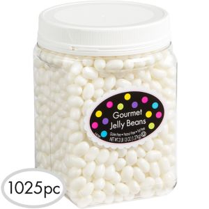 White Jelly Beans 1025pc