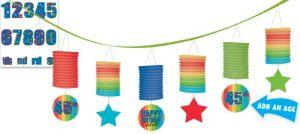 A Year to Celebrate Personalized Lantern Garland