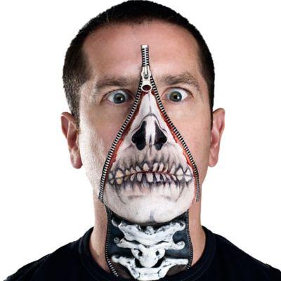 Skull Zipper Makeup Kit