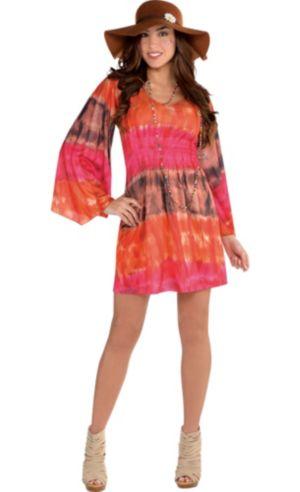 Festival Tie-Dye Dress