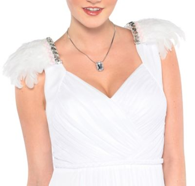 Feather Angel Epaulettes