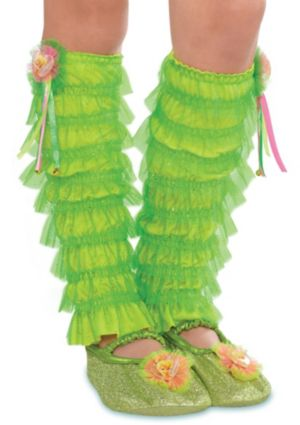 Child Tinker Bell Leg Warmers