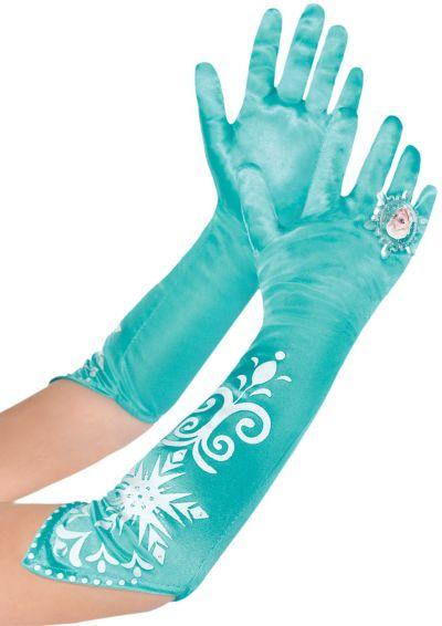 Long Elsa Gloves - Frozen