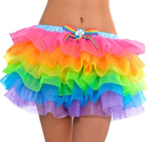 Adult Rainbow Dash Tutu - My Little Pony