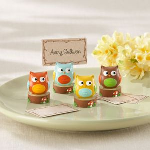 Owl Place Card Holders 4ct