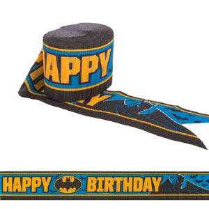 Batman Birthday Streamer