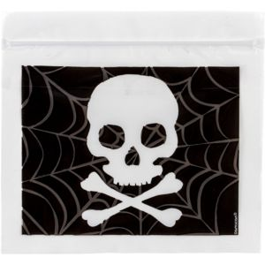 Resealable Spooky Web Treat Bags 30ct
