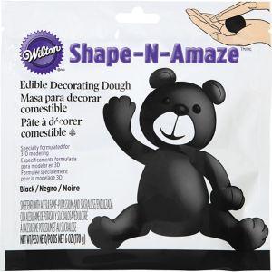 Black Edible Decorating Dough