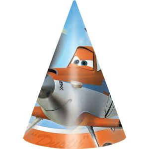Planes Party Hats 8ct