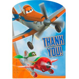 Planes Thank You Notes 8ct