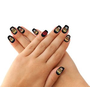 Day of the Dead Nail Wraps