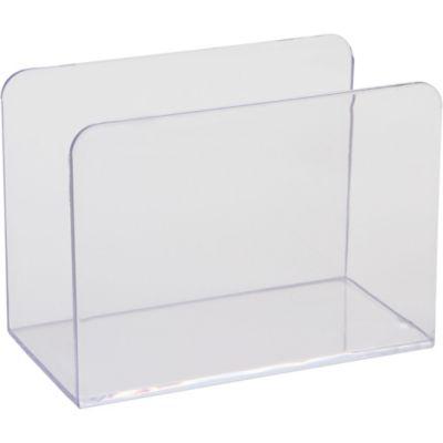 CLEAR Plastic Napkin Holder