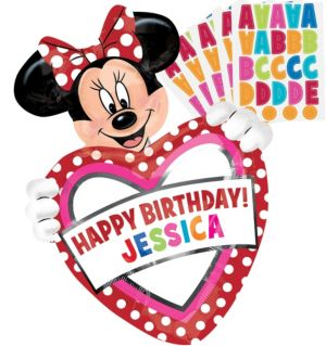 Minnie Mouse Balloon - Personalized