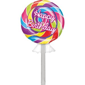 Happy Birthday Balloon - Lollipop