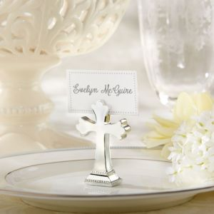 Cross Place Card Holder